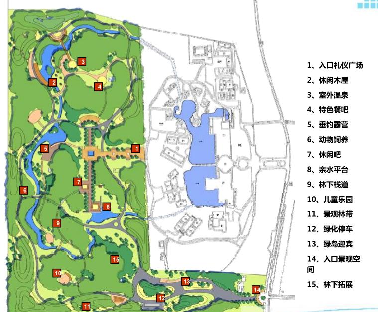 [北京]怡生园国际会议中心养生林景观方案文本(生态健康养生)