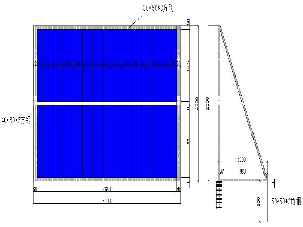 [西安]模拟地下综合管廊工程交通导行及维护方案