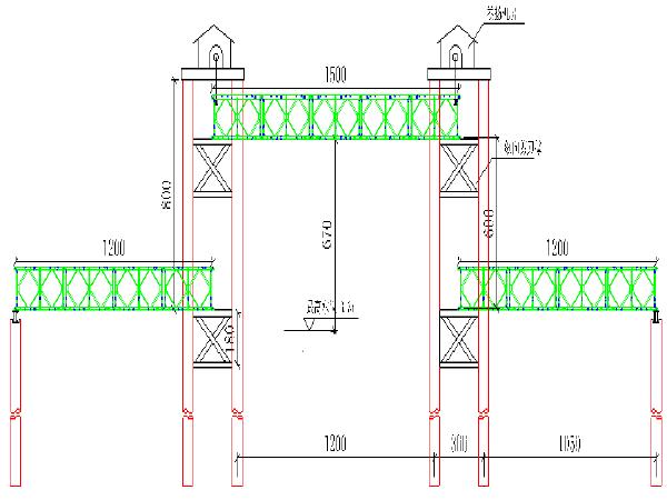 新建铁路特大桥钢便桥计算书