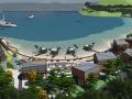 [江苏]象山半边山景区半岛渔湾景观概念设计方案-旅游度假码头