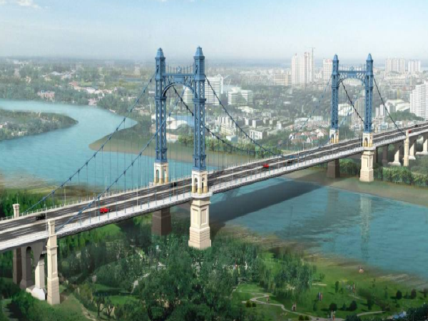 [武汉]跨汉江自锚式悬索桥总体施工组织设计(311页)