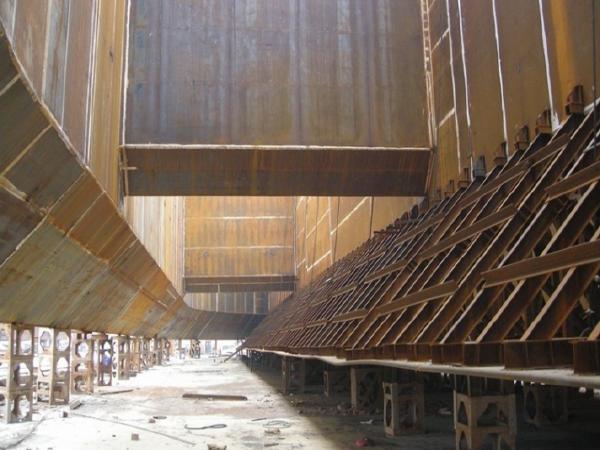 长江公路大桥3、4#墩钢围堰工程施工方案