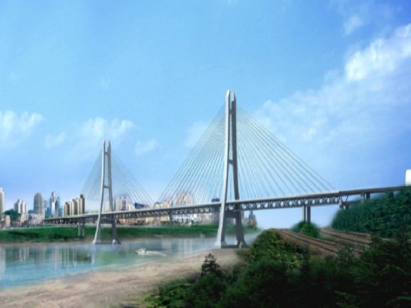 [重庆]双塔双索面半漂浮体系斜拉长江大桥钢桁梁制造方案(178页)