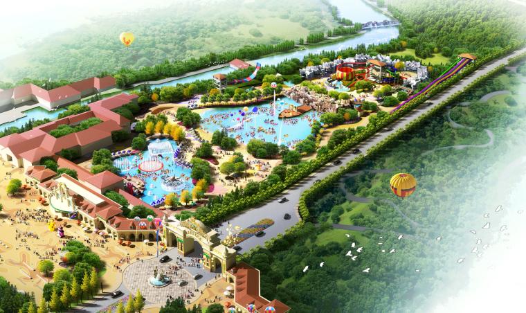 [安徽]桐城仙龙湖旅游度假区景观方案文本
