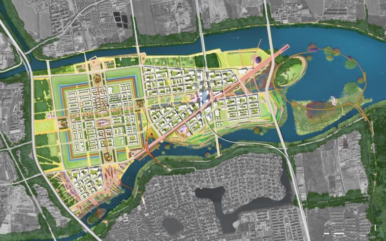 [北京]街区及其周边地区规划设计国际方案征集方案文本-SASAKI_5