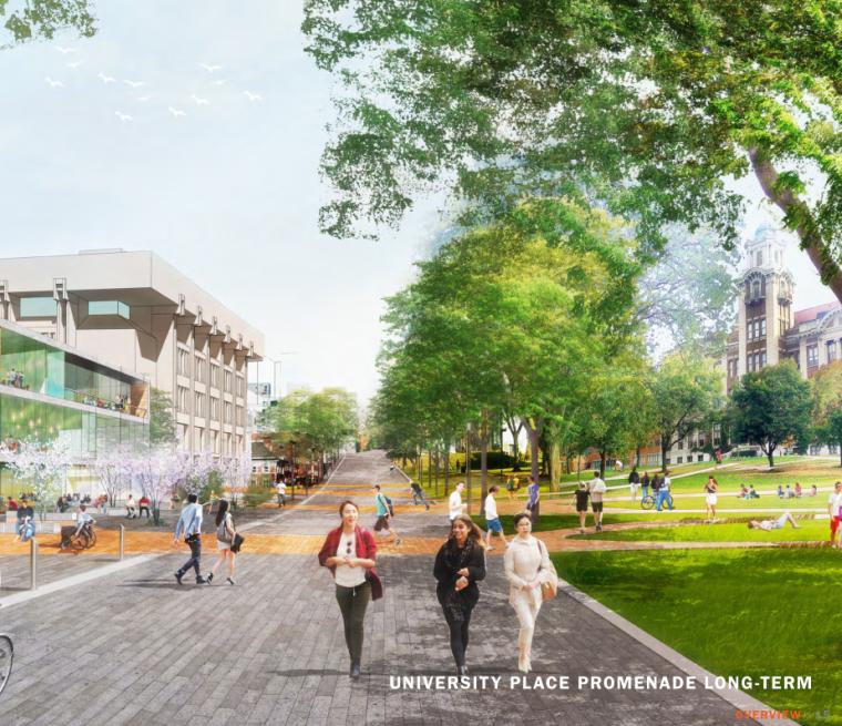 [美国]syracuse大学景观概念设计方案文本