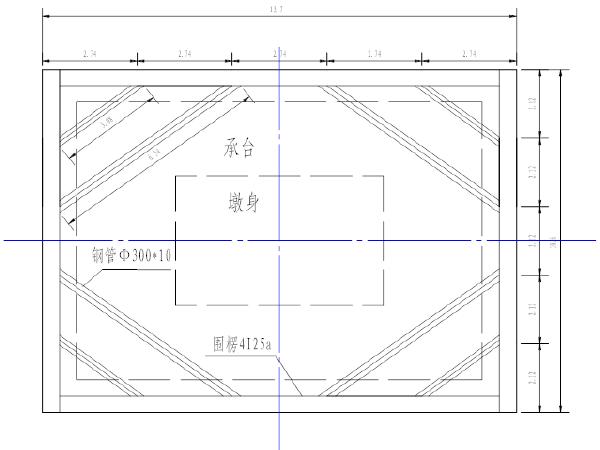京杭运河四号桥水中钢板桩围堰施工专项方案