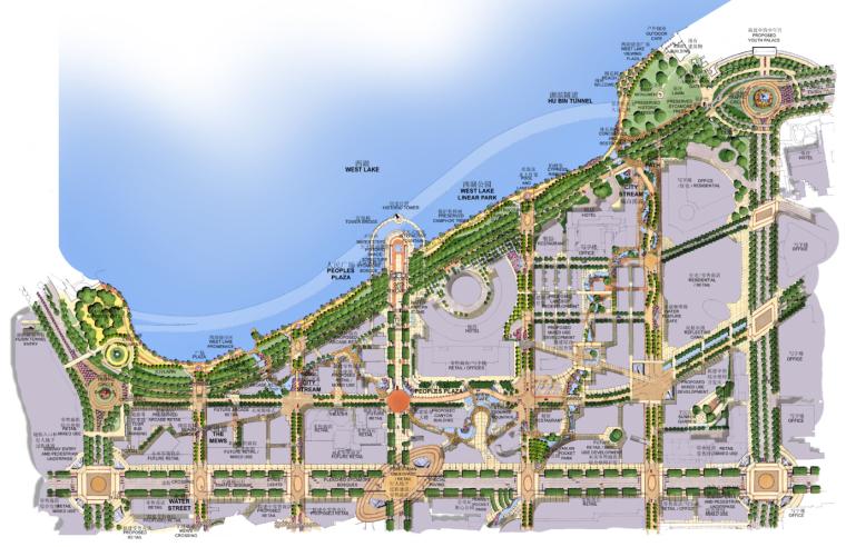 [浙江]杭州市湖滨地区商贸旅游特色街区设计总体规划方案文本_7