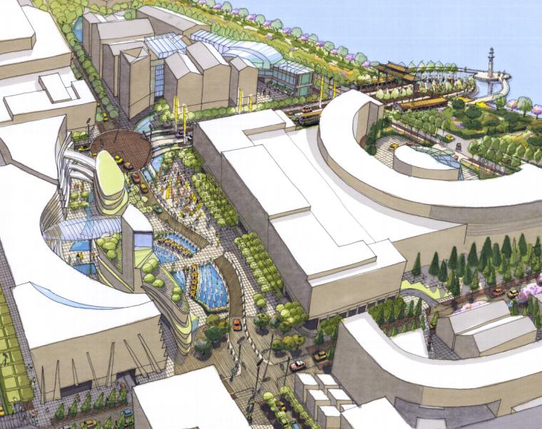 [浙江]杭州市湖滨地区商贸旅游特色街区设计总体规划方案文本