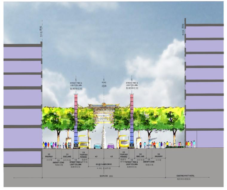 [浙江]杭州市湖滨地区商贸旅游特色街区设计总体规划方案文本_11