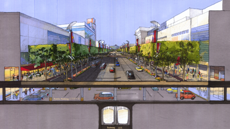 [浙江]杭州市湖滨地区商贸旅游特色街区设计总体规划方案文本_3