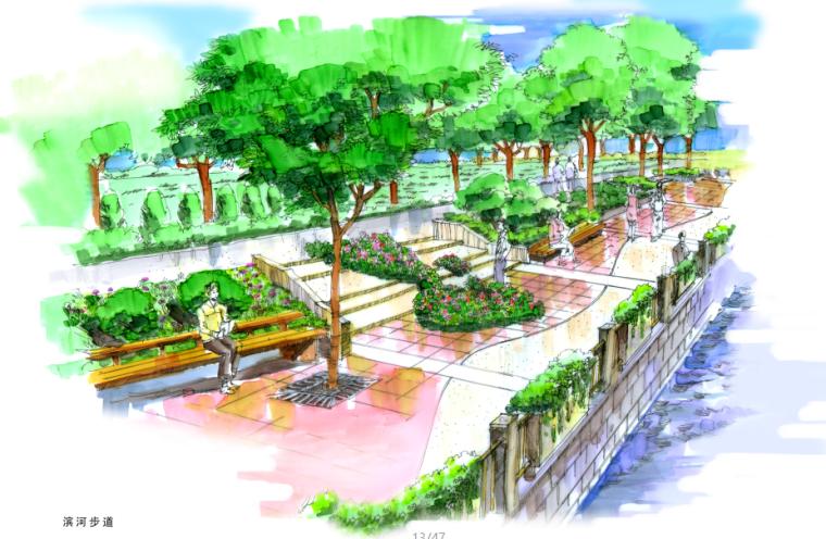 [浙江]温州大学城环境设计投标方案文本(含有CAD平面图,分析图)