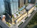 [北京]华贸商业办公广场景观方案文本(含:屋顶花园景观设计)