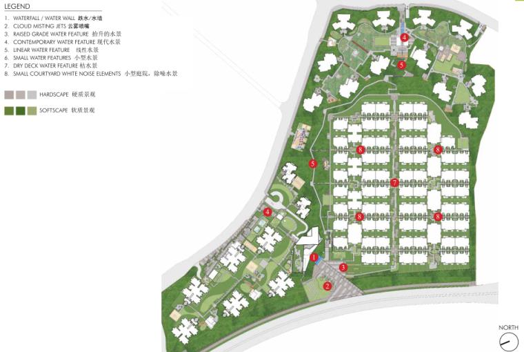 [重庆]万科城100%居住区景观概念设计方案文本(现代简约)