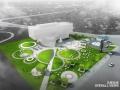 [北京]首开万科中心体验中心景观设计方案文本
