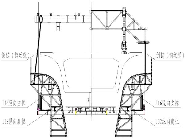 客运专线双线特大桥连续梁挂篮安装及拆除方案