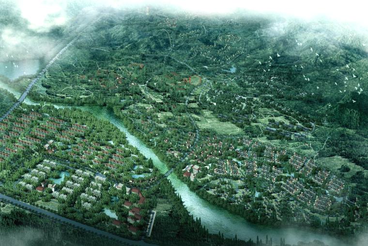[北京]乾荣养老生态园总体暨修建性详细规划-北京土人