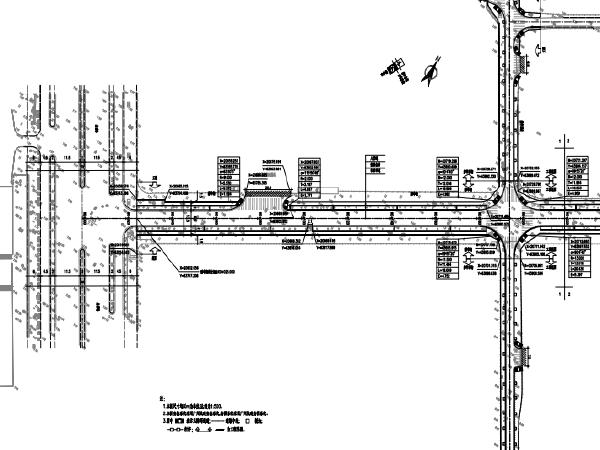 开发区道路改造完善工程沥青工程标段施工图设计(PDF版355页)