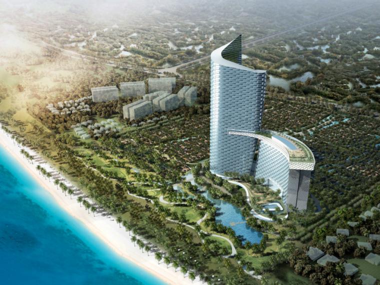 [海南]三亚海棠湾华尔道夫酒店项目方案设计文本