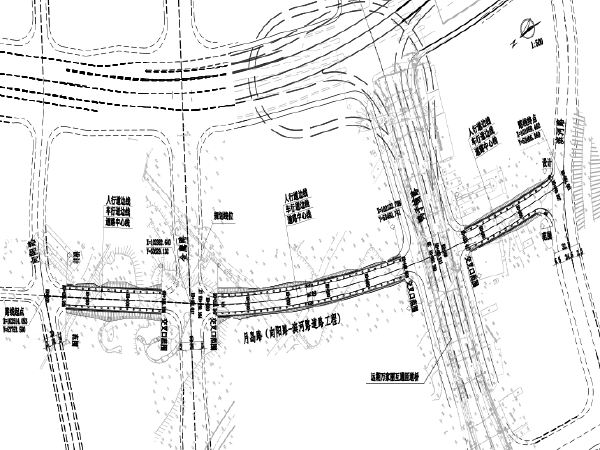 [长沙]城市支路(道路/电气/排水/绿化)施工图纸(附招标控制价)