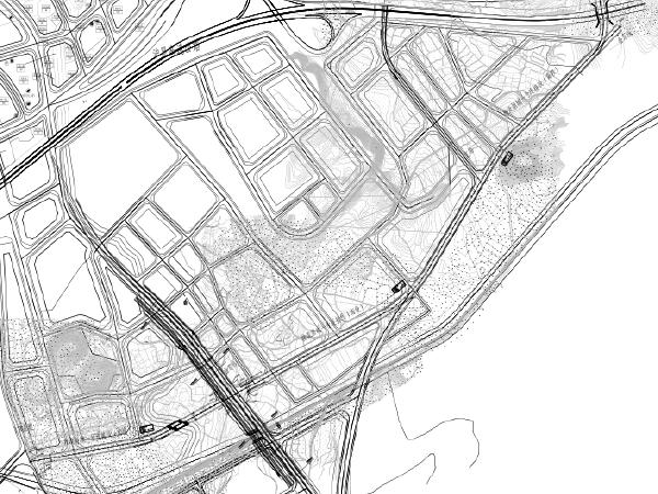 物流新城一号连接线及支线道路工程一到五标段施工图设计