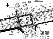 [重庆]两条道路景观升级改造工程图纸(绿化和照明)