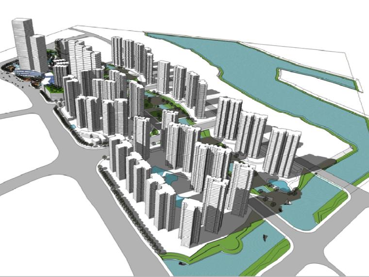 [广东]佛山保利新城功能复合型社区项目规划方案文本