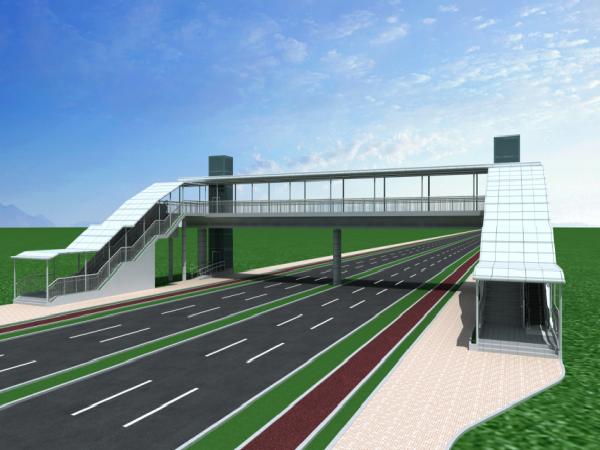 深圳市人行天桥和连廊设计指引