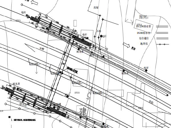 预应力混凝土栏杆详图设计资料下载-简支预应力混凝土箱梁人行天桥设计施工图