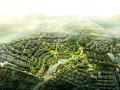 [成都]新津老君山依山傍水高档住宅项目概念规划方案文本(PPT+CAD)