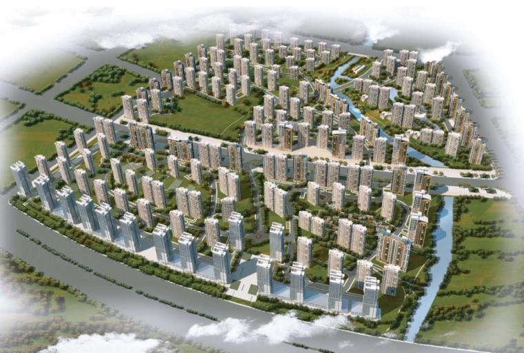 [辽宁]沈阳某大型居住区规划设计方案汇报文本