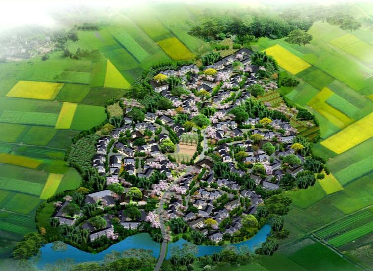 [四川]崇州街子镇灾后重建农村住房新型社区规划方案文本
