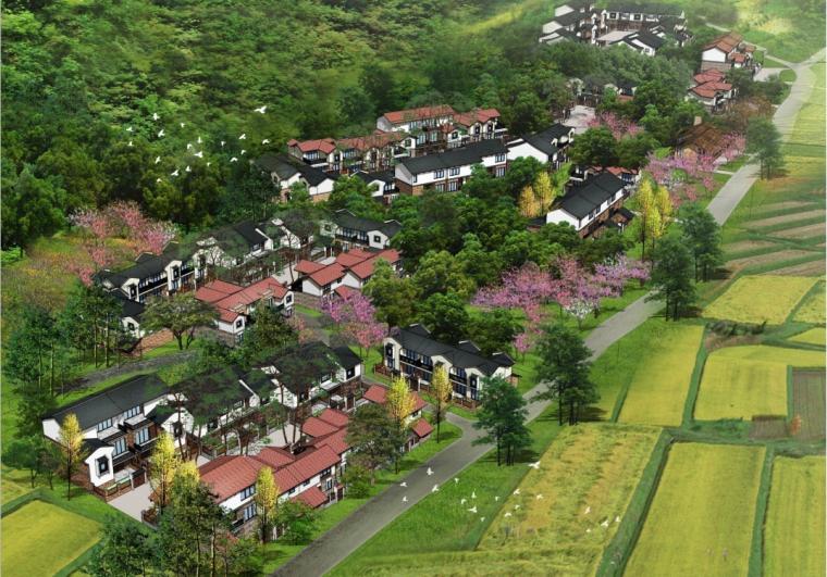 [四川]彭州市通济镇乡村居住群落统规自建设计