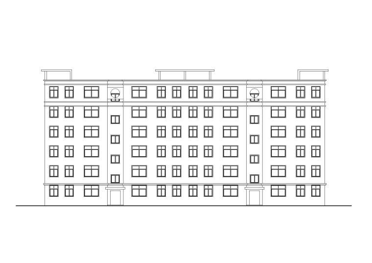 [河南]郑州某安置小区六层住宅楼建筑施工图