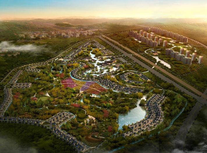 [四川]悦榕庄熊猫小镇整体规划方案文本