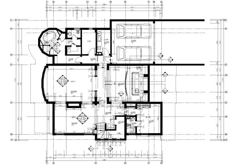 [上海]上海浦东新区东郊花园丨CAD施工图