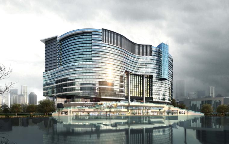 [天津]泰达时尚广场景观设计方案文本-D1地块(澳大利亚道克)