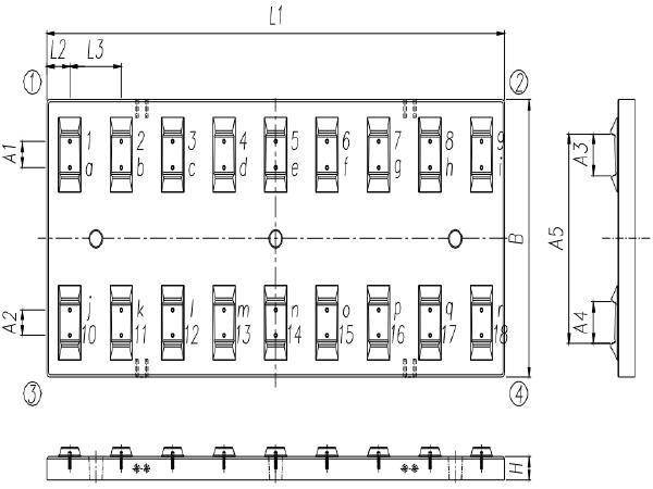 铁路CRTSⅢ型板式无砟轨道先张法预应力混凝土轨道板暂行技术条件