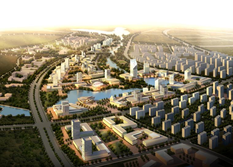 [江苏]南京汤山生态新城商务度假区可持续发展城市设计文本