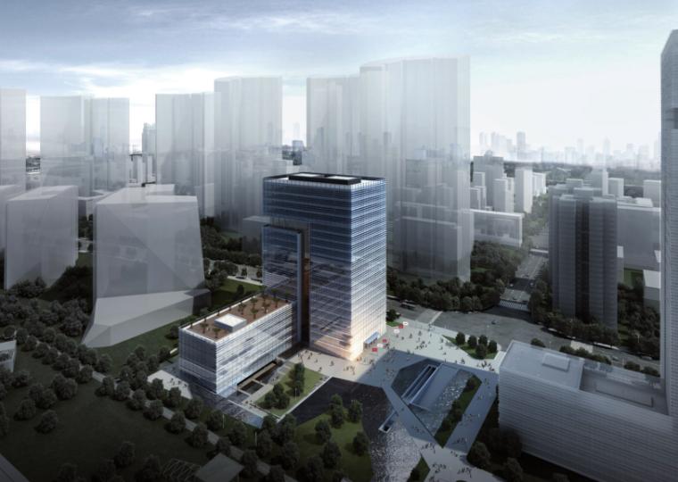 [上海]海航总部办公楼景观方案文本