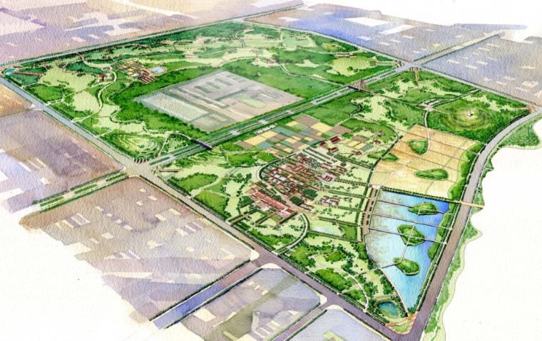 [北京]顺义新城景观规划方案文本_3