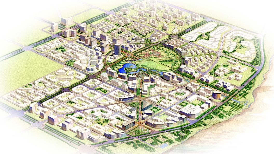 [北京]順義新城景觀規劃方案文本