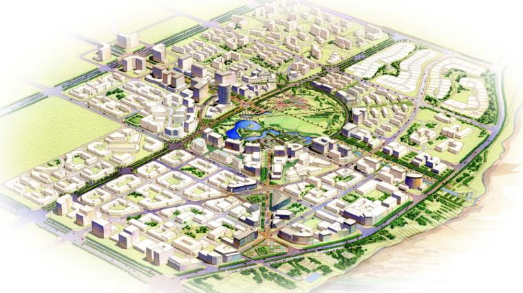 [北京]顺义新城景观规划方案文本