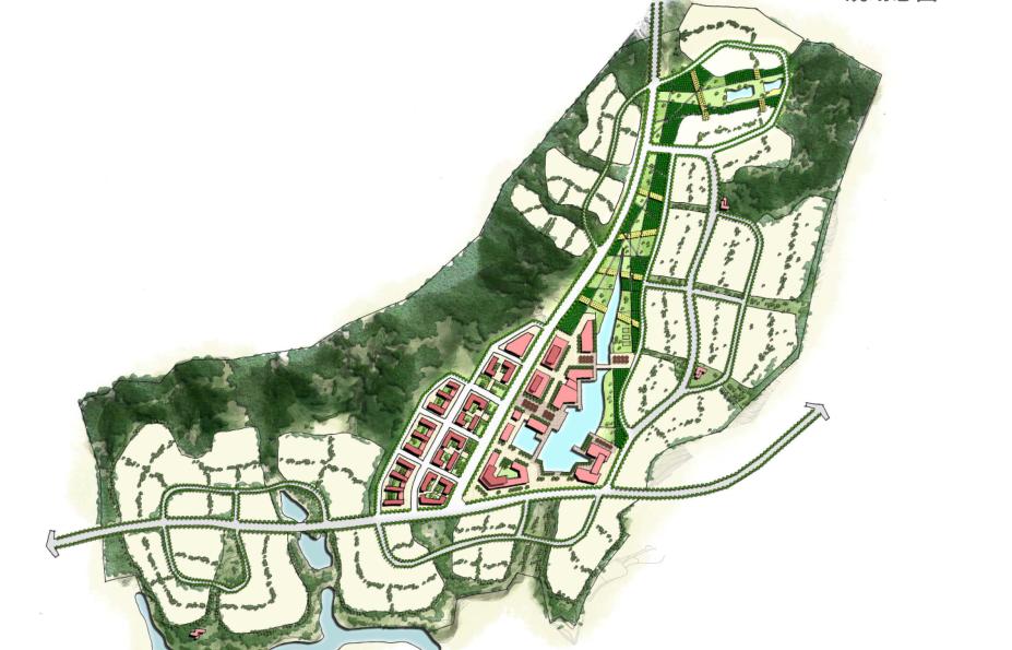[云南]安宁市生态休闲社区总体规划景观方案-城市规划景观设计-土木资料网