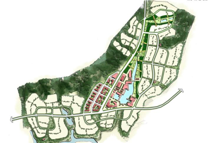 [云南]安宁市生态休闲社区总体规划景观方案