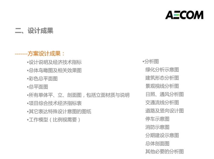 金地烟台项目建议书-AECOM