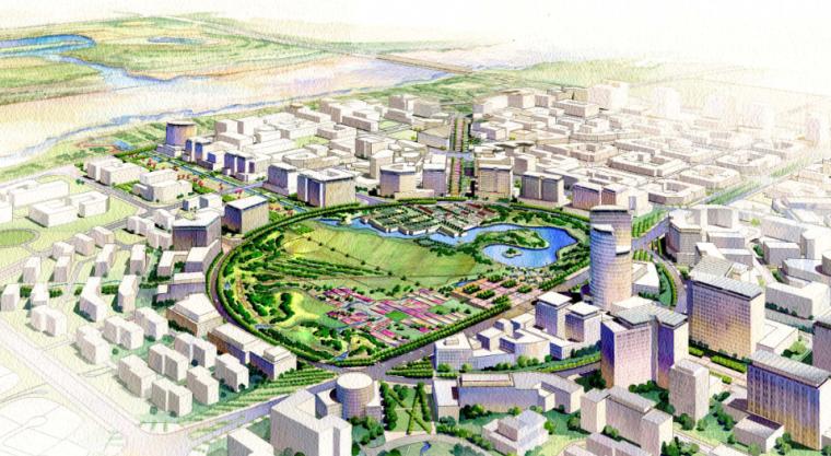 [北京]顺义新城景观规划方案文本_2