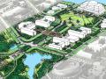 [山东]临沂大学校园景观规划方案文本(山水校园)-EDSA