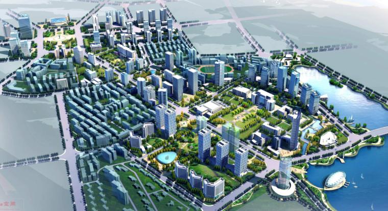 [湖北]武汉水果湖地区概念规划省级行政中心城市设计方案文本