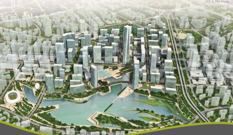 [湖北]武汉王家墩商务核心区设计规划方案文本